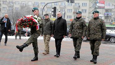 Wizyta ministra Antoniego Macierewicza w Białymstoku