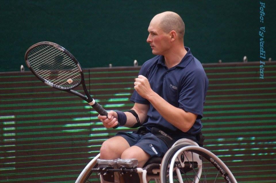 Kamil Fabisiak podczas Czech Open