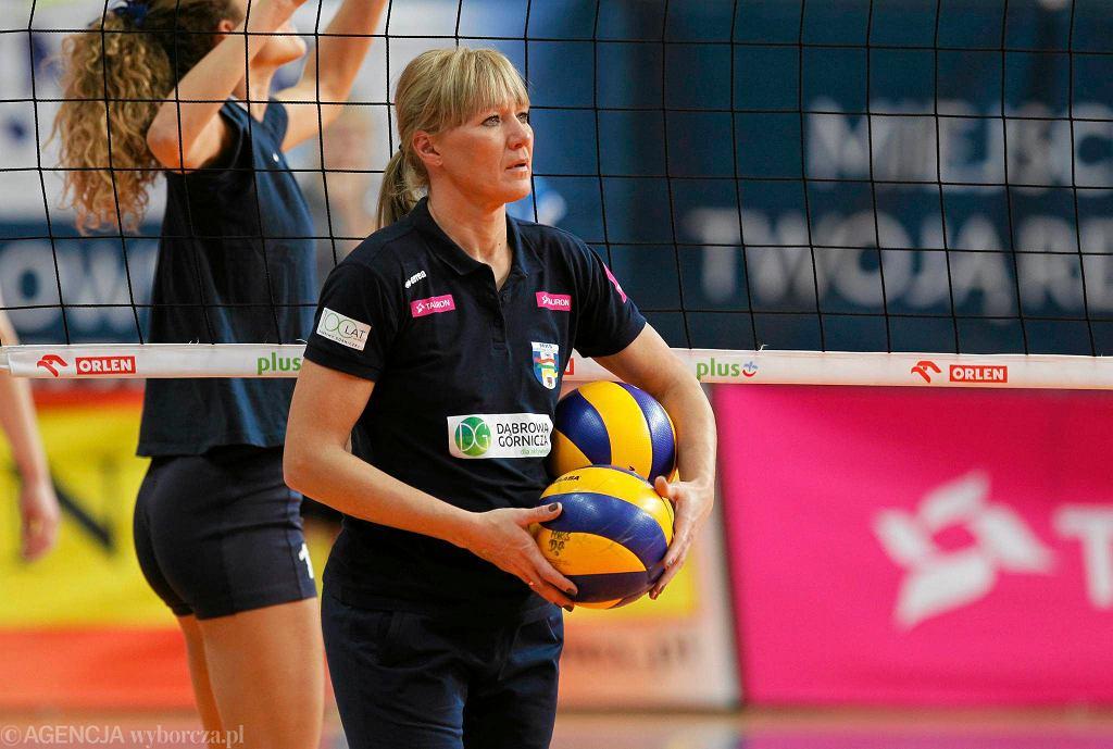 Magdalena Śliwa, trenerka MKS-u Dąbrowa Górnicza