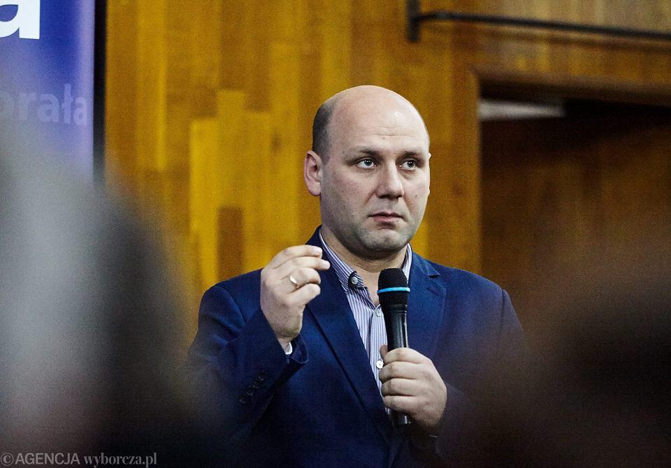 Sekretarz stanu w Ministerstwie Spraw Zagranicznych Szymon Szynkowski vel Sęk