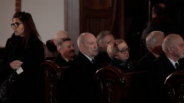 Uroczystości pogrzebowe premiera Jana Olszewskiego w Warszawie