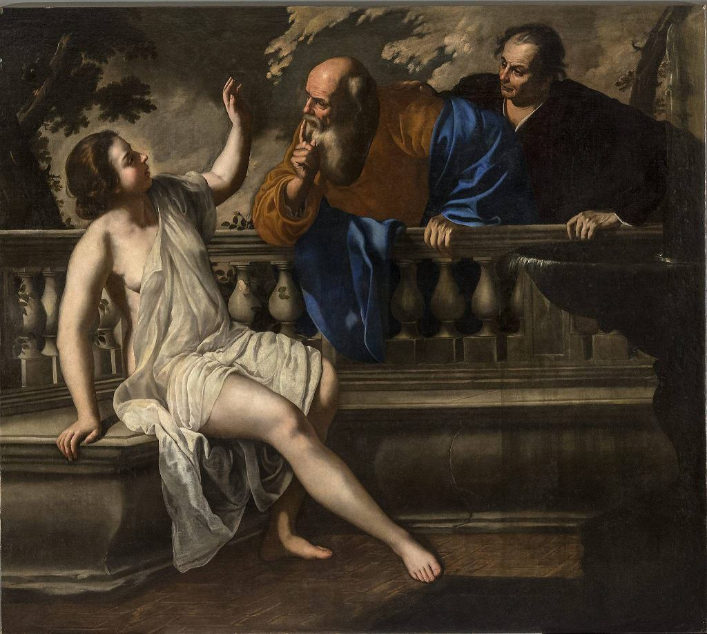 / Artemisia Gentileschi 'Zuzanna i starcy' MBALDASSARI