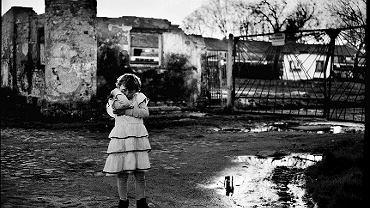 Zagórki: popegeerowska wieś, w której kręcono dokumentalny film 'Arizona', zdjęcie z 30 marca 2007 r.