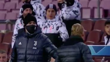Piłkarze Juventusu i Ronald Koeman