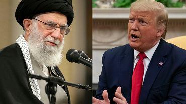 Ali Chamenei i Donald Trump