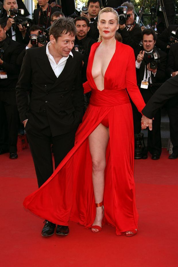 May 25, 2013: Mathieu Amalric, Emmanuelle Seigner attending 'Venus in Fur' Premiere during the 66th Annual Cannes Film Festival at Grand Theatre Lumiere in Cannes, France. Mandatory Credit: INFphoto.com Ref.: infukyo-01|sp|NO UK, NO GERMANY.