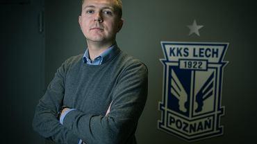 Tomasz Kacprzycki, dyrektor finansowy Lecha Poznań