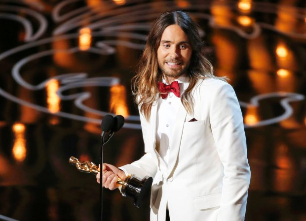 Jared Leto, best supporting actor winner for his role in