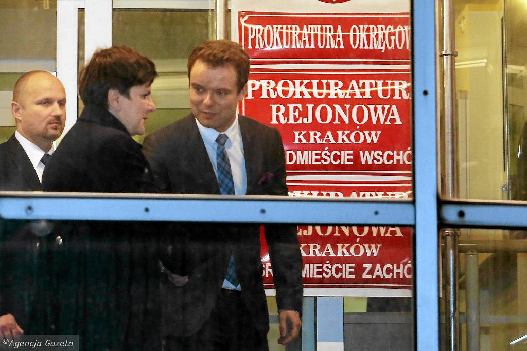 Premier opuszcza prokuraturę w Krakowie