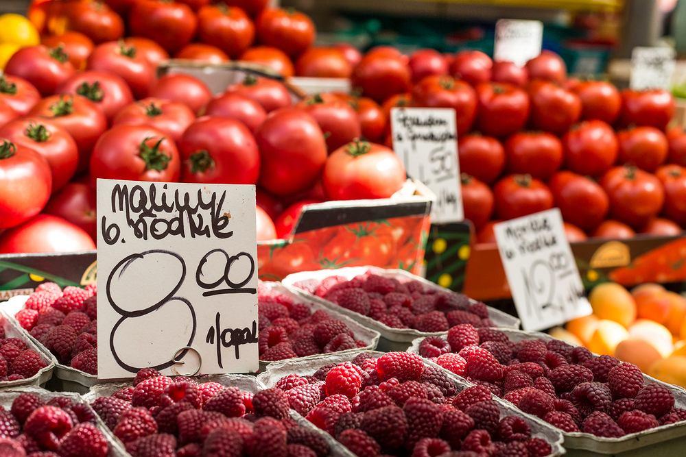 Delikatne warzywa i owoce najgorzej znoszą upały.