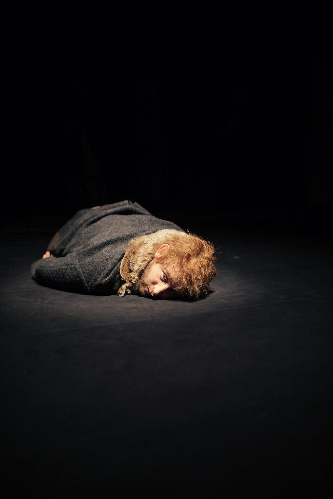 Borys Szyc na próbie spektaklu 'Psie serce' w reżyserii Macieja Englerta w Teatrze Współczesnym /
