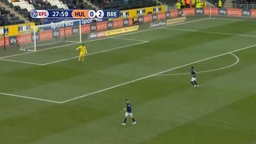 Wpadka bramkarza w meczu Hull - Brentford
