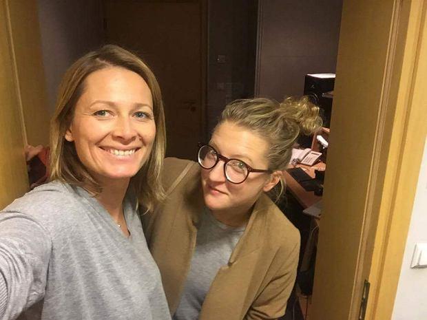 Odeta Moro i Lara Gessler w programie 'Morowy Weekend'