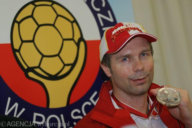 Bogdan Wenta ze srebrnym medalem MŚ 2007