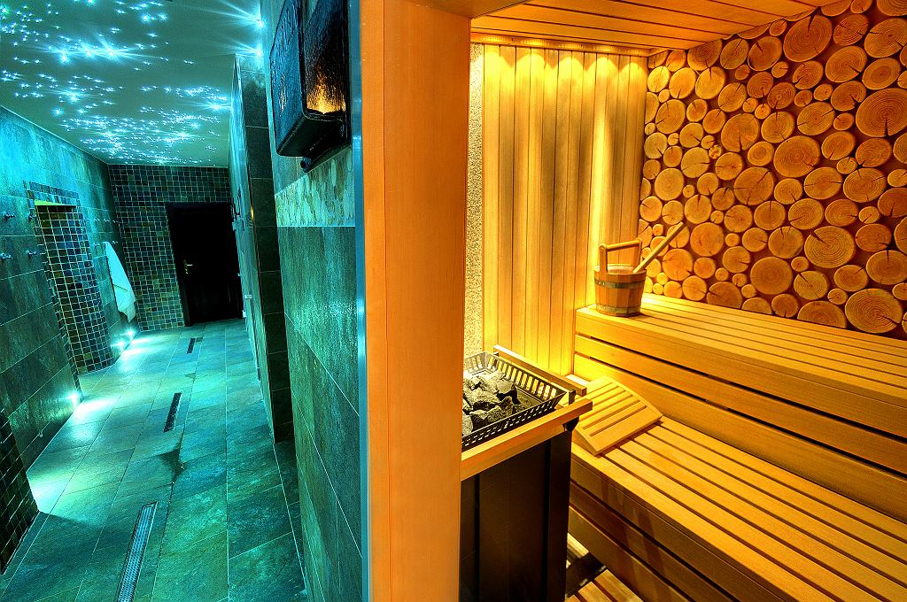 Saunarium w hotelu Grand Praha