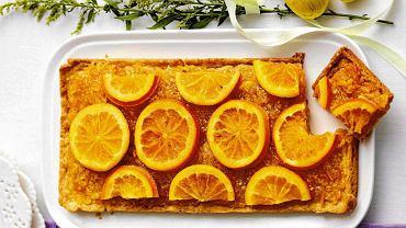 Mazurek z pomarańczami