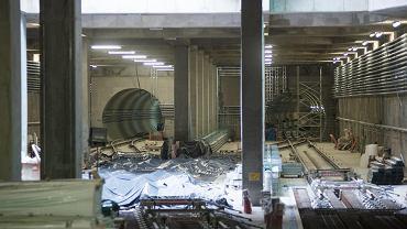 Budowa stacji II linii metra Targówek