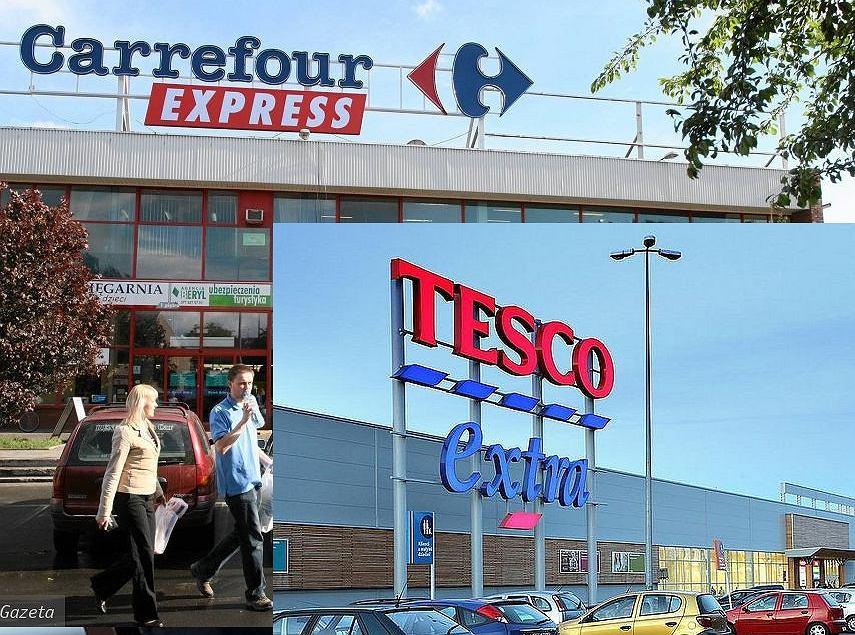 Carrefour i Tesco na niektórych rynkach będą kupować razem