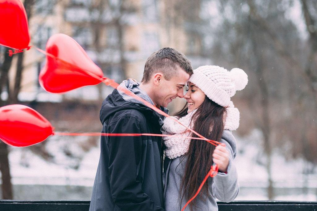 Walentynki, zakochani