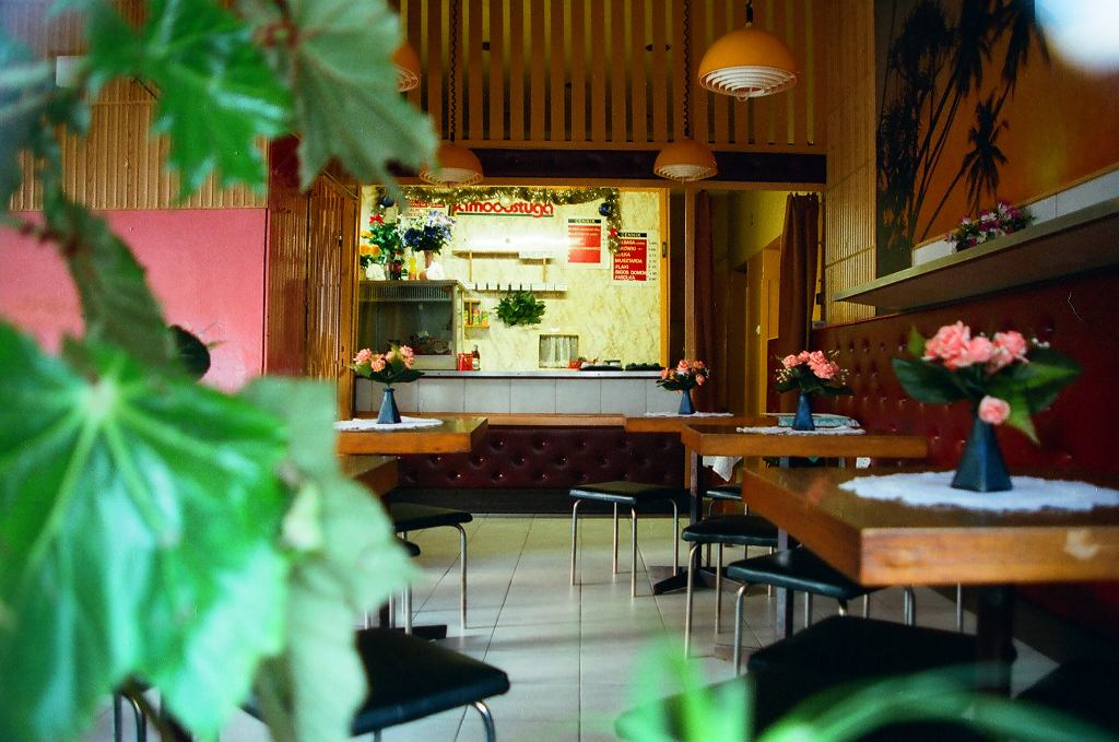 Cafe Grażynka istniała na tyłach Sezamu, który też już zniknął (fot. Juliusz Strachota)