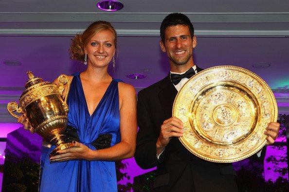 Petra Kvitova, Novak Djoković, Wimbledon 2011