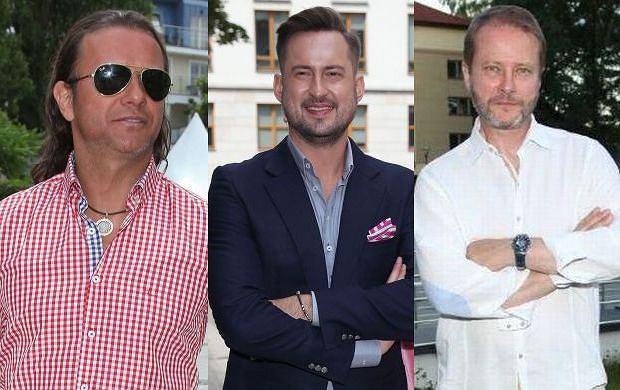 Radosław Majdan, Marcin Prokop, Artur Żmijewski.
