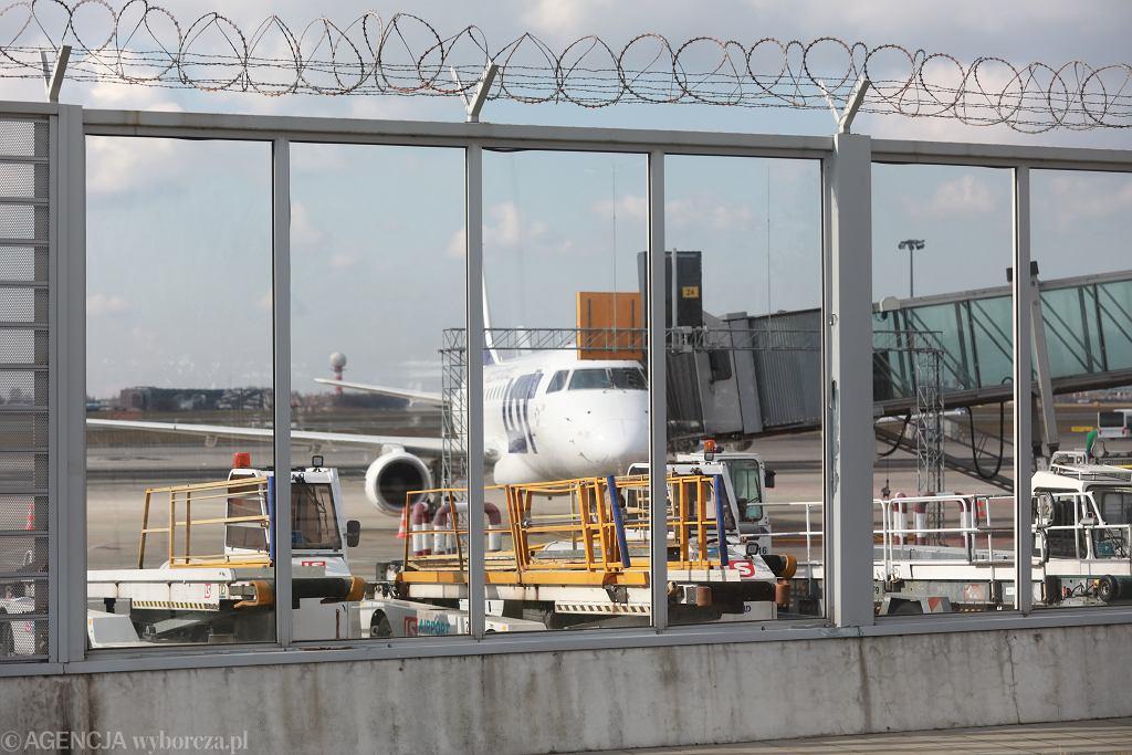 Lotnisko Okecie w Warszawie