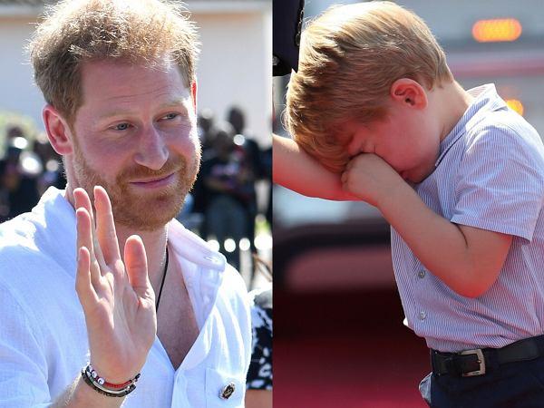 Książę Harry złamał serce księciu George'owi