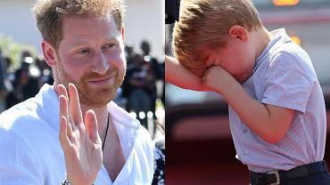 """Książę Harry złamał serce księciu George'owi. Ten sprawia przykrość rodzicom. """"Dostrzegają napięcie i smutek"""""""
