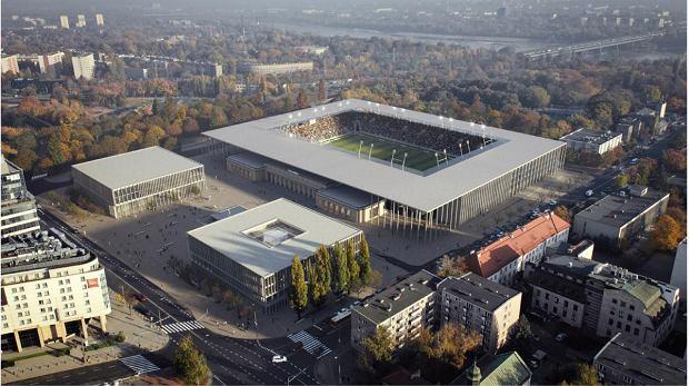 Polski trzecioligowiec będzie miał nowy stadion za 150 mln zł