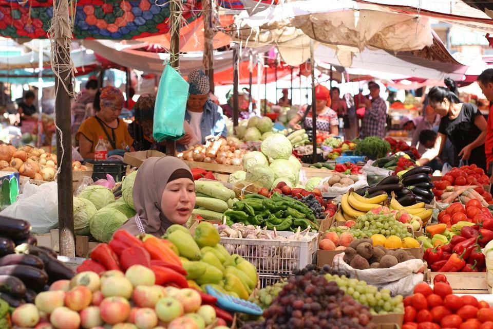 Bazar w Balikchi