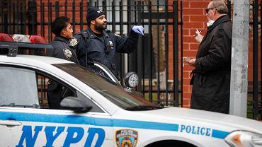 USA. Prawie 20 proc. policjantów z Nowego Jorku jest zakażonych koronawirusem (zdjęcie ilustracyjne)
