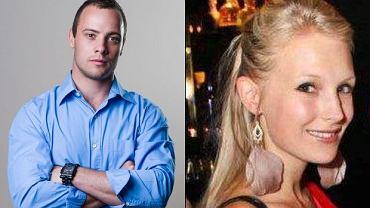 Oscar Pistorius, Jenna Edkins.