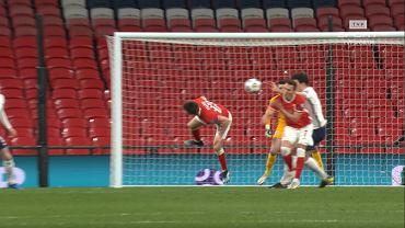 Ręka Harry'ego Maguire'a w meczu Anglia - Polska