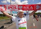 Biegowe wyróżnienie dla Jana Morawca, 81-letniego mistrza świata w maratonie