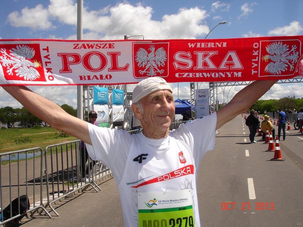 Jan Morawiec po zdobyciu mistrzostwa świata w brazylijskim Porto Alegre