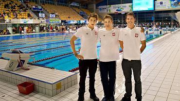 Filip Zaborowski, Paweł Furtek i Mateusz Sawrymowicz