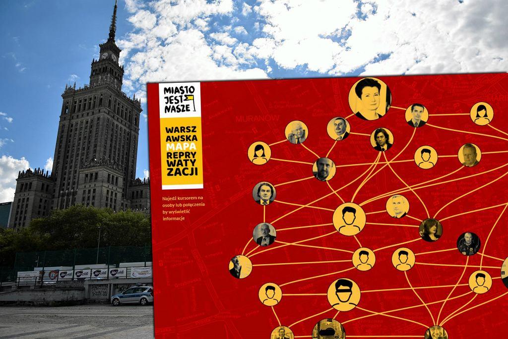 Warszawska mapa reprywatyzacji