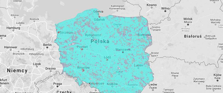 Sieć 5G od maja w Polsce. Sprawdź, czy jesteś w jej zasięgu [MAPA]