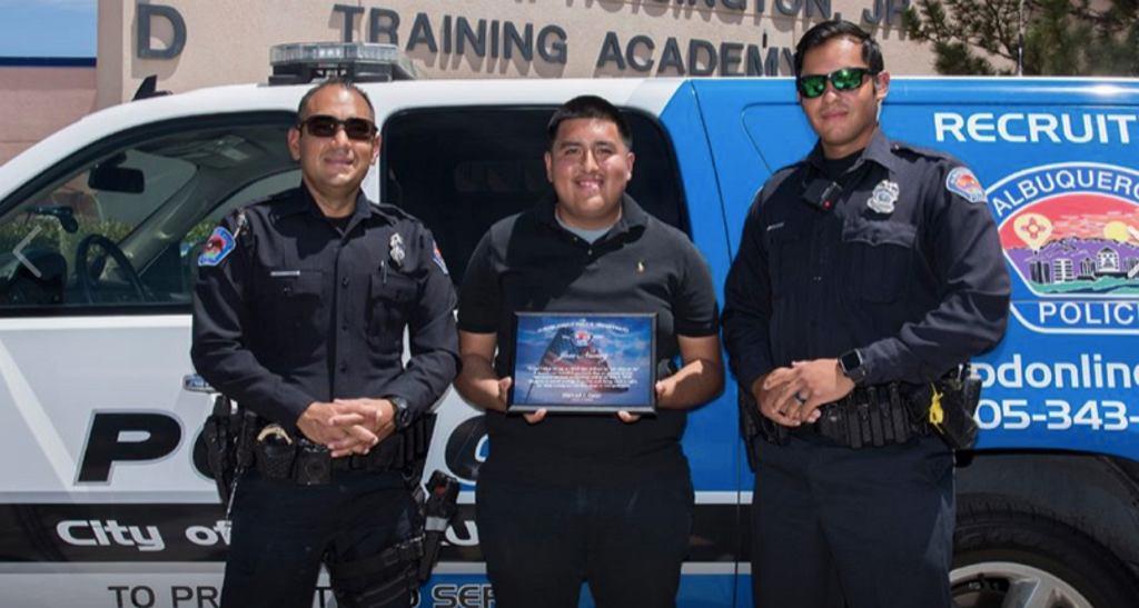 Nastolatek doceniony przez policję
