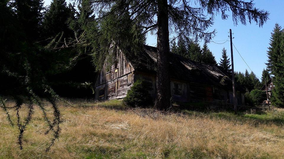Góry Sowie. Ostatni dom we wsi Sowa, niemieckiej Euledörfel