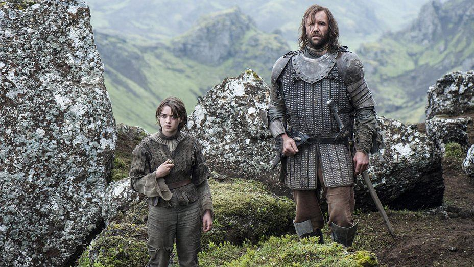 'Gra o tron' - kadr ze sceny kręconej w Irlandii Północnej