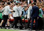 Anglia - Hiszpania 1:2. Luke Shaw wraca do zdrowia po utracie przytomności