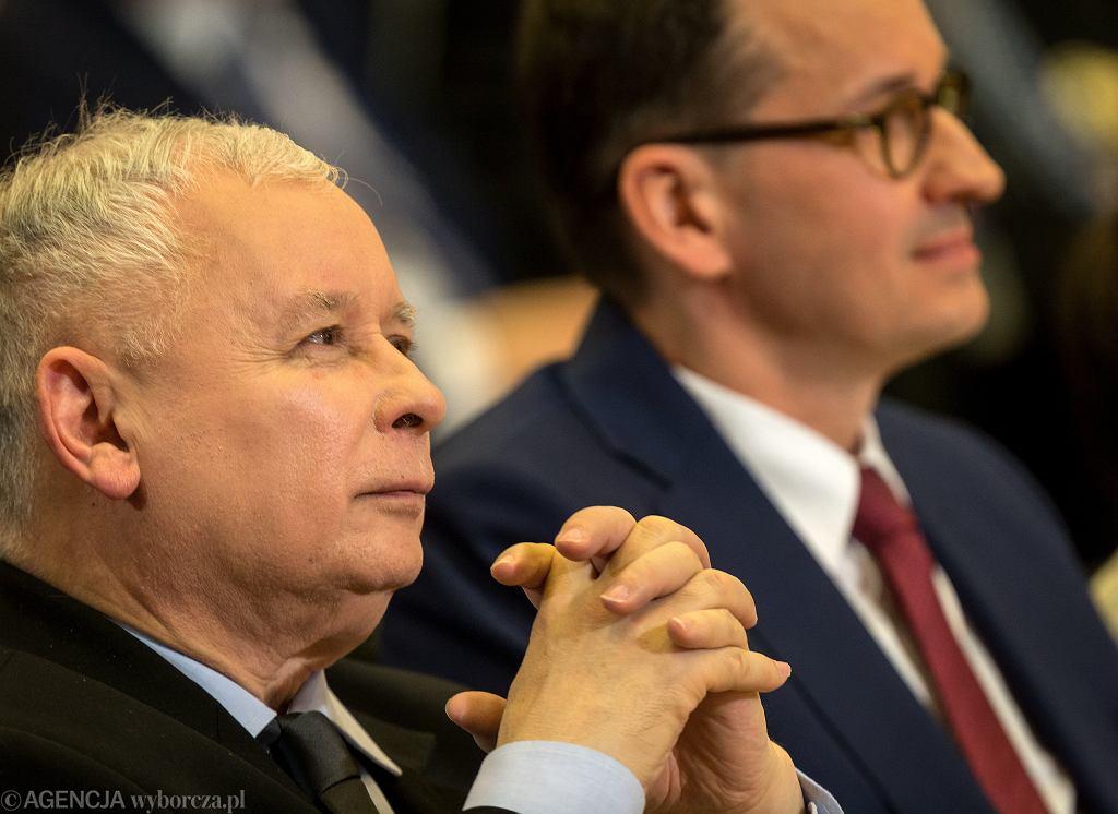 Jarosław Kaczyński, Mateusz Morawiecki