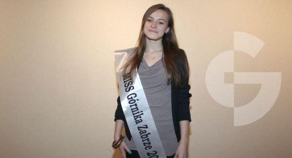 Dominika Dąbrowska - miss Górnika Zabrze