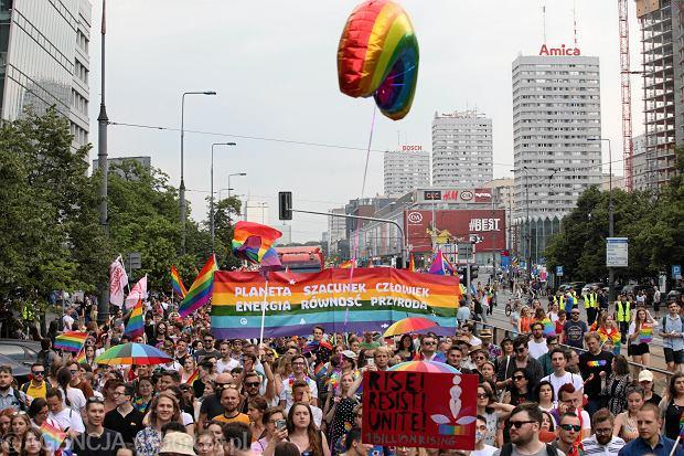 Parada Rownosci 2019 w Warszawie