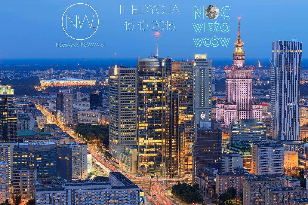 Noc Wieżowców 2018 w Warszawie. Jak zdobyć darmowe wejściówki?