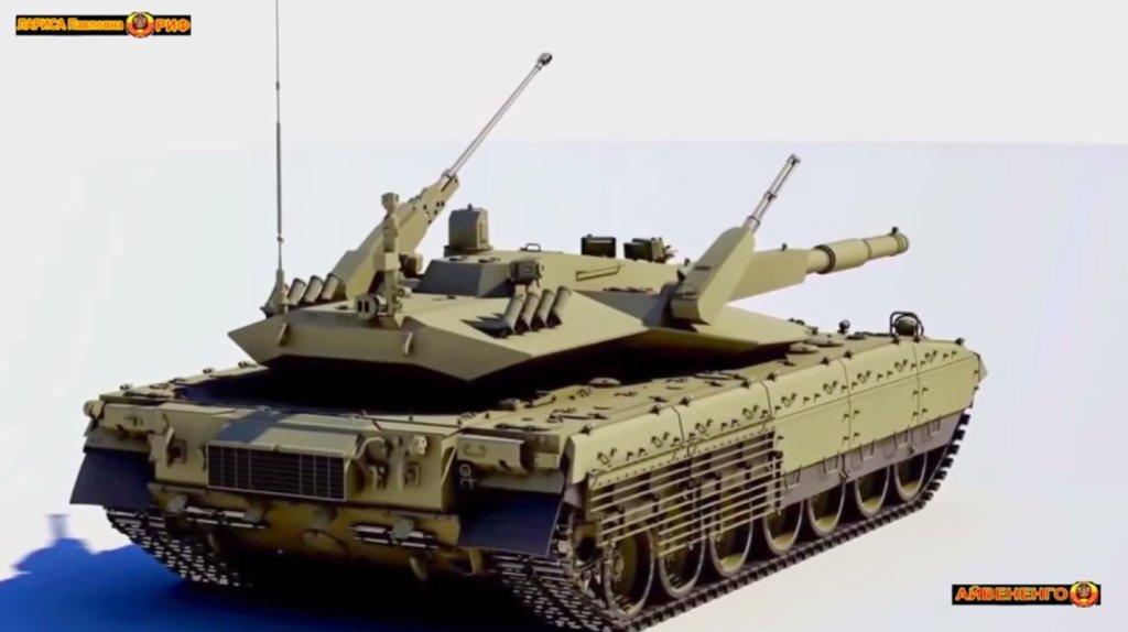 Plany nowego rosyjskiego czołgu T-14