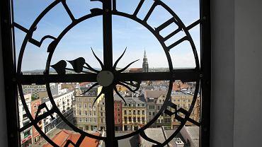 Świdnica -widok z wieży ratusza