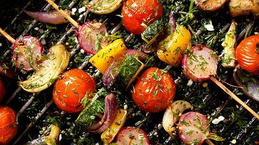 Potrawy z grilla - warzywa